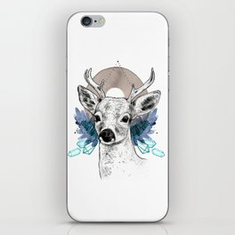 The Deer (Spirit Animal) iPhone Skin