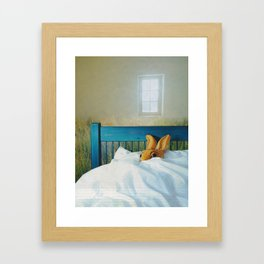 safety Framed Art Print