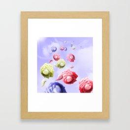 Morning Roses Framed Art Print