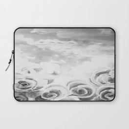 Fading Roses Silver Lining Laptop Sleeve