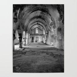 Derelict Cypriot Church. Poster