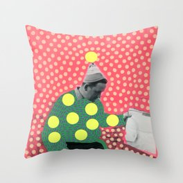 Looking For Answers Throw Pillow