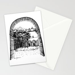 a glance inside Stationery Cards