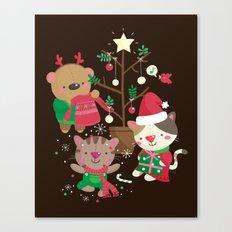 Holiday Crew Canvas Print