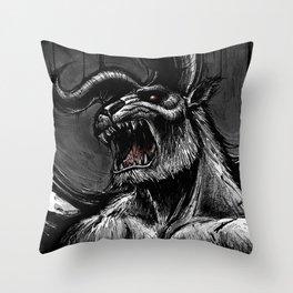 Zodd_BERSERK Throw Pillow