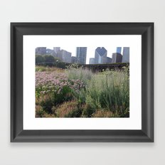 Chicago Garden Framed Art Print