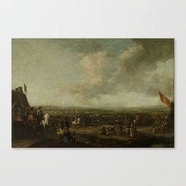 Frederick Henry at the Surrender of Maastricht, 22 August 1632, manner of Pieter Wouwerman, 1633 - 1 Canvas Print