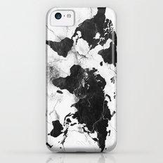 world map marble 3 iPhone 5c Slim Case