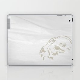 Pale Skull Laptop & iPad Skin