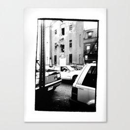 Clinton Hill, Brooklyn - New York  /   date: Oct 1995   Canvas Print