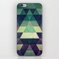 spires iPhone & iPod Skins featuring dysty_symmytry by Spires