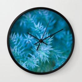 ENCHANTED GREEN #1 #art #society6 Wall Clock