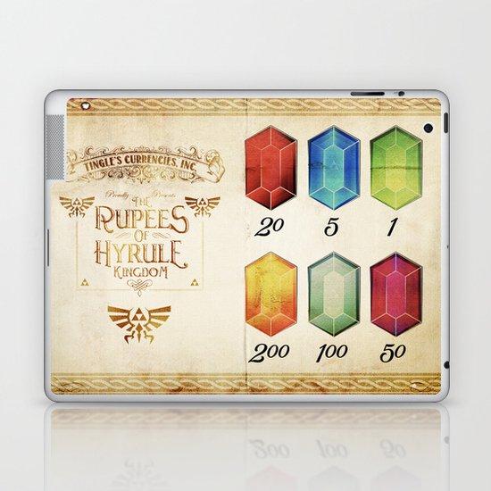Legend of Zelda - The Rupees of Hyrule Kingdom Guide Laptop & iPad Skin