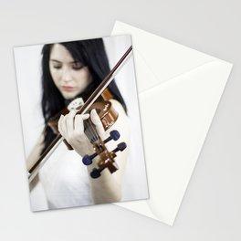 La violoniste Stationery Cards
