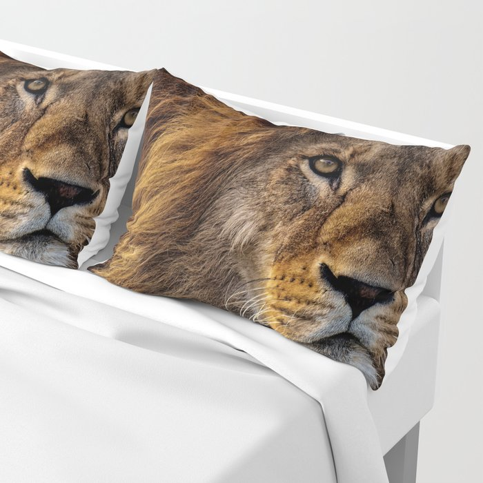 Majestic Lion Pillow Sham