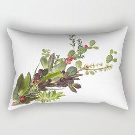Abstract Succulent Bouquet Rectangular Pillow