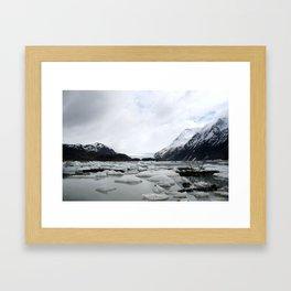 Icy Lake - Homer, AK Framed Art Print