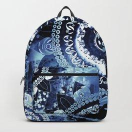Navy Sea Mandala Backpack