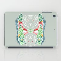 tigers iPad Cases featuring Tigers #2 by Ornaart