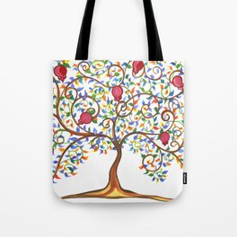 Pomegranate Tree Tote Bag