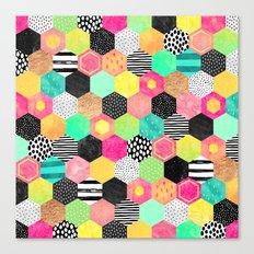 Color Hive Canvas Print