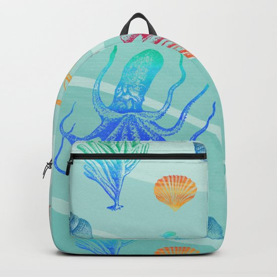 Marine Pattern 13 Backpack