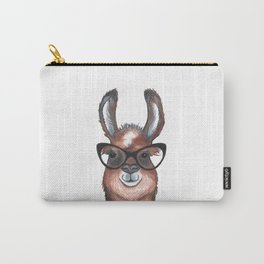 Hipster Llama Carry-All Pouch