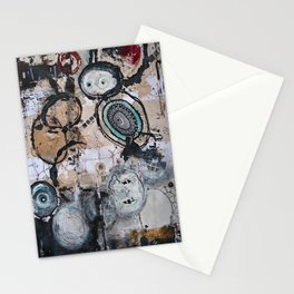 Upside Down and Inside Out Stationery Cards