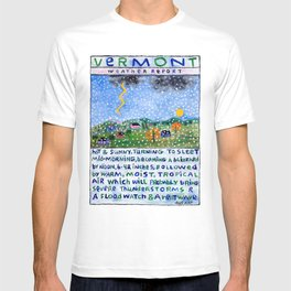 Vermont Weather Report T-shirt