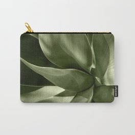 Green Agave Plant Carry-All Pouch