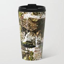 Face in the Rocks  Travel Mug