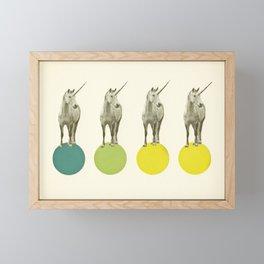 Unicorn Parade Framed Mini Art Print