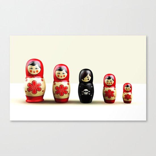 The Black Sheep 3D Canvas Print
