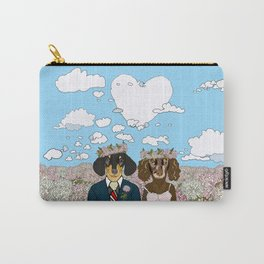 Dachshund Lovers - Honeymoon Carry-All Pouch