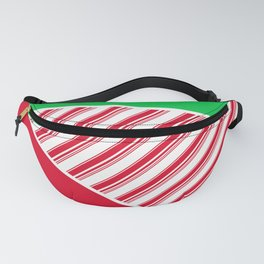 Christmas Color Blocks 1 Fanny Pack