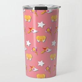 Cardcaptor Sakura Pattern Travel Mug