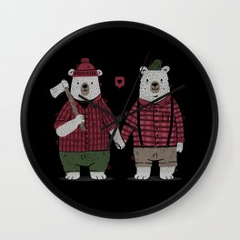 My Bear Valentine Wall Clock