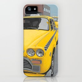 Taxi Stand version 2 iPhone Case