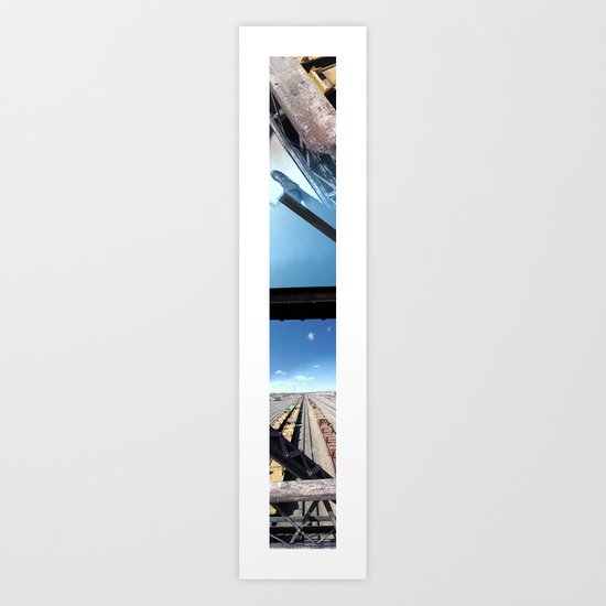 Laramie, WY (Panoramic) Art Print