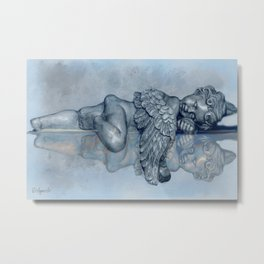 Sleeping Angel Metal Print
