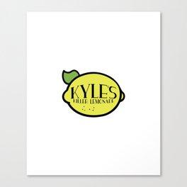 Superbad - Kyle's Killer Lemonade Canvas Print