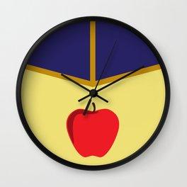 Snow White Dress Wall Clock