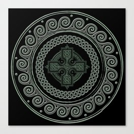 Awesome Celtic Cross Canvas Print