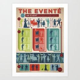 Improv Forms: The Eventé Art Print