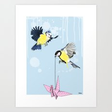 Birds #4 Art Print