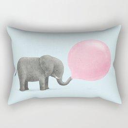 Jumbo Bubble Gum Rectangular Pillow