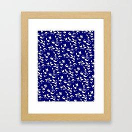 INDIGO BLOSSOM II Framed Art Print