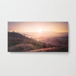 Outback Sunrise (full widescreen panorama) Metal Print