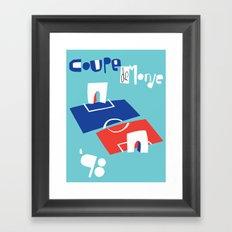 Coupe de Monde Framed Art Print