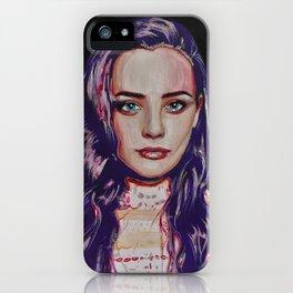 Katherine Langford iPhone Case